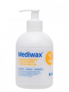 Mediwax emulsja krem do rąk 330 ml pompką
